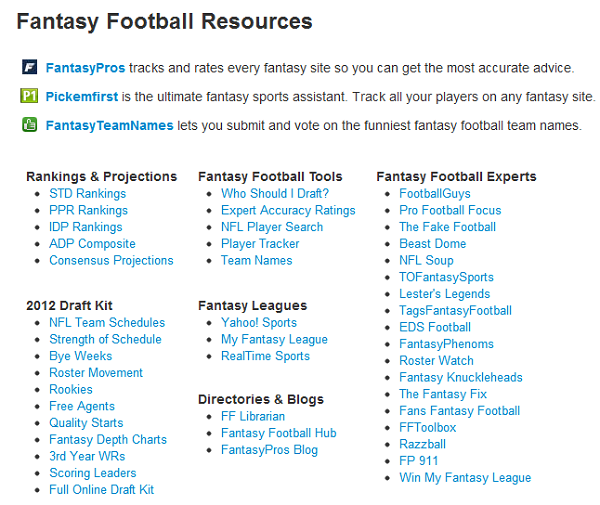 photo regarding Fantasypros Printable Cheat Sheet named THE Excellent Year-Extensive Myth Soccer Draft Device Readily available