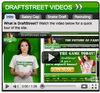 DraftStreet Welcome Video