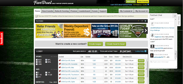 FanDuel Review and Promo Code