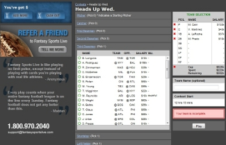 fantasy sports live screenshot in review 1