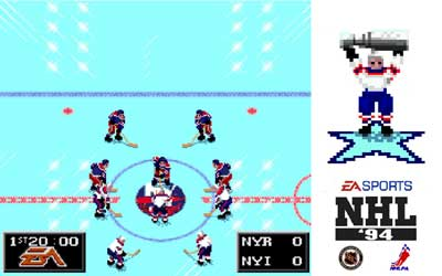 EA Sports Michael Brook NHL 94
