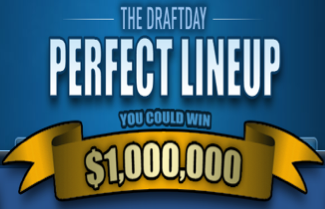 DraftDay Perfect Lineup Promotion for NFL Daily Fantasy